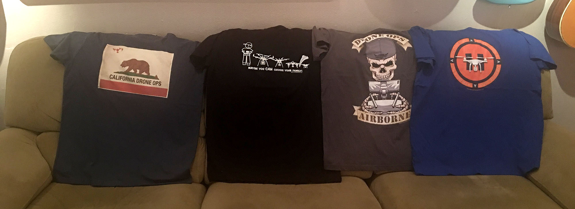 T-shirts for drone pilots
